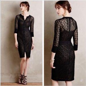 Beguile Byron Lars Mona Black Lace Dress 0P